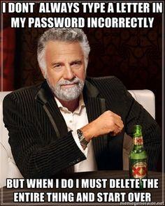 Password OCD