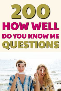 If you are looking for a quiz to test HOW WELL DO YOU KNOW ME, here are 200 questions to ask your family and friends to see just how well they know YOU! Couple Quiz Questions, Best Friend Quiz Questions, Question Games For Couples, This Or That Questions, Boyfriend Best Friend, Boyfriend Quiz, Boyfriend Gifts, Fun Couples Quiz, Best Friend Test