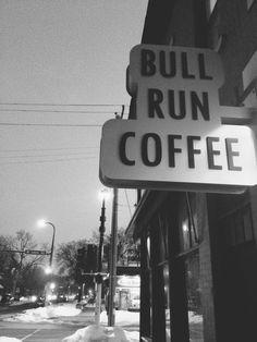 bull run coffee. minneapolis. so good.