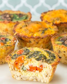 Cauliflower Crust Egg Cups | These Cauliflower Crust Egg Cups Are An Easy Grab-And-Go Breakfast