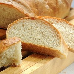 Crusty French Bread (Mixed in a Bread Machine)  So good, we ate the first one and had to make another for dinner!
