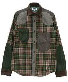 eYe COMME des GARCONS JUNYA WATANABE MAN(アイコムデギャルソンジュンヤワタナベ)のシャツ(シャツ・ブラウス)|ブラウン系その他