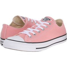 bdc9ebbef5e6f1 Converse Chuck Taylor All Star Seasonal (Daybreak Pink White Black) Lace up  casual Shoes