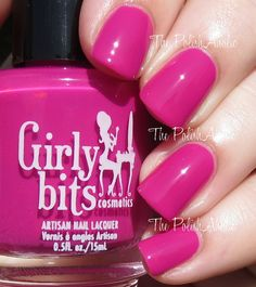 Girly Bits - Don't Paddle Break a Nail. Swatch by The PolishAholic: Girly Bits Summer 2015 Hoop! There It Is Collection Swatches & Review