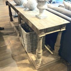 Table at Restoration Hardware