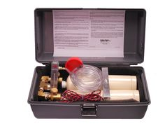 The Kal-Kit® is a convenient portable calibration kit containing everything needed to calibrate Rel-Tek (and most other) gas sensors. It contains two 20-liter tanks of cal gas, usually zero and a selected span gas. Tanks are nested in a shock resistant bed, rigidly captured by a brace and wing nut. For more info, please visit www.rel-tek.com. Thank you. Tanks, Zero, The Unit, Kit, Shelled, Military Tank, Thoughts