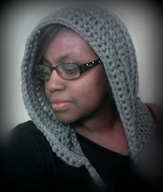 Quick and Easy Pixy hood free pattern.