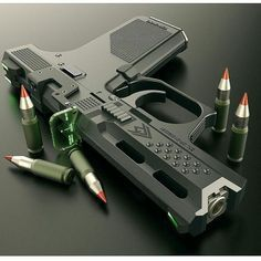 tacticalbadass: #Repost @uniqueweapons ・・・ I think this is a concept but it's pretty bad ass!