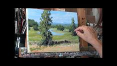 """""""Summer Pond"""" Part 3 Acrylic Country Pond Painting Demo"""
