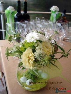 Фото 415005 в коллекции Белая свадьба в Ше Веро. - Флорист-декоратор Янина Венгерова