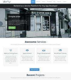 This free responsive business WordPress theme comes with custom widgets, a homepage image slider, a clean design, a widgetized footer, support for custom menus, sticky posts, and more.