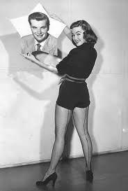Jeffrey Hunter &  Barbara Rush