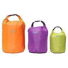 Buy Waterproof Dry Bags 3-Piece Set (3 sizes) by Center Link Media on OpenSky