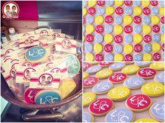 Biscuit 1 er Anniversaire Loic & Constantino Nantes - Un Jeu d'Enfant Cake Design Nantes