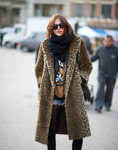 ROCK 'N' Leopard  Has anyone seen a coat like this for Mimi???????
