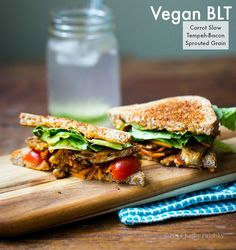 Spicy Vegan BLT. Summertime Picnic Approved. {video}
