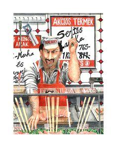 Marcus Goldson Kenya, Budapest, Fine Art Prints, Brit, Album, Baseball Cards, Gallery, Funny, Portraits