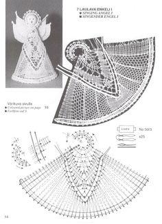 navidad - rosi ramos - Picasa Web Albums Bobbin Lace Patterns, Vintage Crochet Patterns, Tatting Patterns, Crochet Angel Pattern, Crochet Angels, Knit Or Crochet, Free Crochet, Lacemaking, Irish Lace