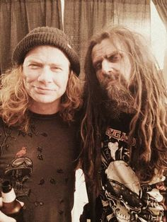 rob zombie with dave mustaine