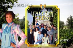 It's anniversary week! On December 1981 our favorite TV show premiered on CBS. So, it's time we celebrate! Falcon Crest, 30 Year Anniversary, 80s Tv, Tv Show Games, Prime Time, Vintage Tv, 30 Years, Favorite Tv Shows, Tv Series