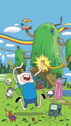 Adventure Time Phone Wallpaper - 애니메이션 - Best of Wallpapers for Andriod and ios Cartoon Kunst, Cartoon Drawings, Cartoon Art, Cartoon Network Characters, Anime Characters, Adventure Time Tattoo, Adventure Time Drawings, Adventure Time Background, Adventure Time Wallpaper