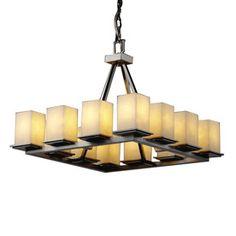 Cascadia Lighting 4-Light Veneto Luce Modular Brushed Nickel Chandelier