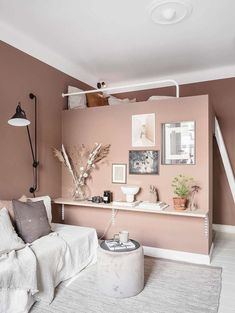 Bedroom Wall Colors, Room Ideas Bedroom, Bedroom Decor, Living Room Designs, Living Room Decor, Comfortable Living Rooms, Room Inspiration, Home, Studio