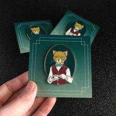 Items similar to The Baron Hard Enamel Pin - LE 50 on Etsy The Cat Returns Baron, 1990 Cartoons, Studio Ghibli Art, Anime Figurines, Cool Pins, Hayao Miyazaki, Hard Enamel Pin, Totoro, Badge
