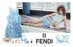 """""""Make a Splash With Fendi"""" by katiethomas-2 ❤ liked on Polyvore featuring Fendi and By Terry"""