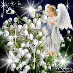 Fondo de Pantalla Whatsapp - Praying the Lord will send His Holy Angels to shower His blessings upon you, alw. Angel Pictures, Jesus Pictures, Image Jesus, Peace Poster, Cute Good Morning Quotes, Prays The Lord, Good Night Gif, I Believe In Angels, Garden Angels
