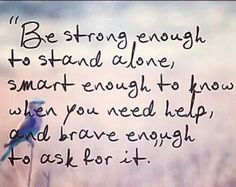 Be . Strong