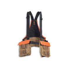 Upland bird hunting vest