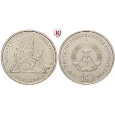 DDR, 10 Mark 1972, Buchenwald, vz, J. 1539: Kupfer-Nickel-10 Mark 1972. Buchenwald. J. 1539; vorzüglich 3,50€ #coins