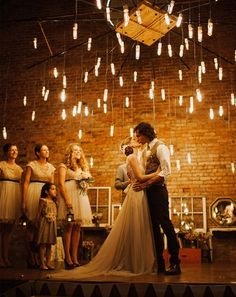 Wedding Lighting Inspiration. Love this!