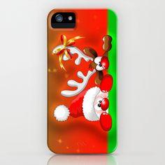 ☆SOLD on #Society6!☆   #Funny #Christmas #Santa and #Reindeer #Cartoon #iPhone / #ipod #Case!  Thanks a lot to the Customer! (ツ)  http://society6.com/BluedarkatLem/Funny-Christmas-Santa-and-Reindeer-Cartoon_iPhone-Case