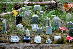 Fish Headstones