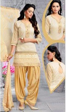 Chanderi Silk Beige Color Straight Cut Punjabi Patiyala Readymade Dresses   FH500476559 #punjabi , #patiyala, shindhi, #suits, #narrow, #dresses, #salwar, #kameez, #straight, #long, #heenastyle, #indian, #online, #shopping, #clothing, #womens, #girls, #style, #mode, #henna, #hina, #mehendi, #dupatta, #chudidar, @heenastyle , #pakistani, #readymade