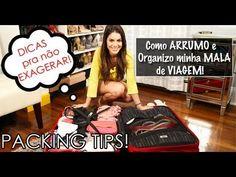 Como Arrumar e Organizar a MALA de Viagem! por Camila Coelho