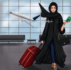 girly_m hijab - 💞 Maya areyan 🙋🏽 Girly M, Beautiful Muslim Women, Beautiful Hijab, Abaya Fashion, Muslim Fashion, Fashion Muslimah, Photo Girly, Hijab Drawing, Hijab Cartoon