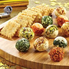 Mini Cheese Balls - The Pampered Chef®  Shop now or join my team @ www.pamperedchef.biz/emileeskitchen