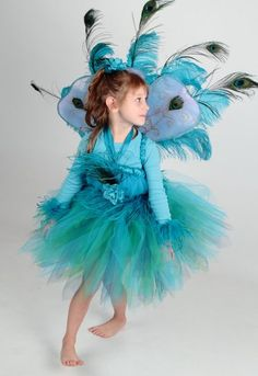 """Peacock Halloween Costume. I would love this in """"me"""" size."""