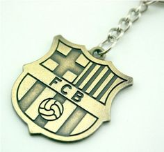 Best price on Barca Soccer Fans Souvenir Keychain Metal Bronze See details here…