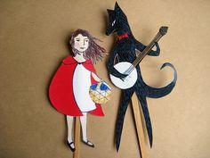 Little Red Riding Hood Puppet Set