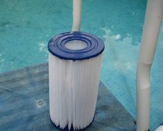 How to Clean a Cartridge Type Swimming Pool Filter, via wikiHow.com #summer