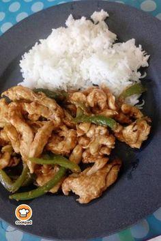 #Κοτόπουλο με κάσιους και #πιπεριές ή κοτόπουλο #σετσουάν #szechuan #Chicken Thai Recipes, Chicken Recipes, Asian Kitchen, Tasty Videos, Spring Rolls, Appetisers, Chinese Food, Cooking Time, Food Dishes