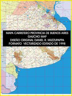 Danielmuz: GAUCHO MAP |  MAPA DE LA PROVINCIA DE BUENOS AIRES...