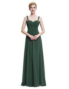 Dark Green Sleeveless Chiffon Ball Gowns Evening Party Dr... https://www.amazon.com/dp/B01766BVUI/ref=cm_sw_r_pi_dp_x_0L5PybY63CR3J
