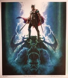 """""""A photo of a limited print I illustrated & signed for the hardcover Marvel Creating the Cinematic Universe gallery book @QAGOMA #MarvelGOMA"""" (https://twitter.com/andyparkart/status/868495878729879556 )"""