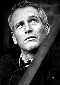 Paul Newman...because he glowed too! (And loved his wife a lot!)