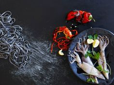 Still Life, Product and Food Photography, San Francisco, Shiso + Beet Salad -Annabelle Breakey